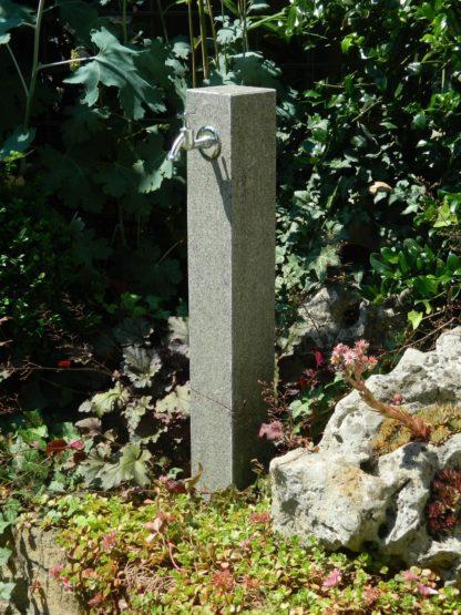 Wasserzapfsäule Granit, anthrazit, veredelt